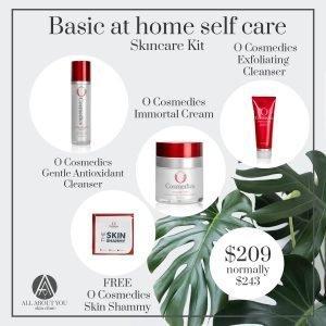 Basic at home self care kit